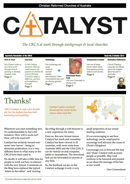 CRCA Catalyst October 2012  P1