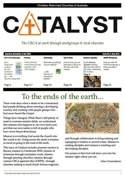 CRCA Catalyst June 2013  p1