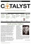 CRCA Catalyst September 2013 - Front page
