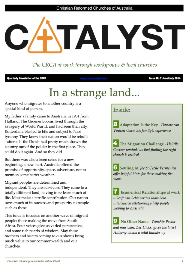 CRCA Catalyst June 2014 -p.1